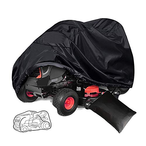 LAMF Abdeckung für Rasentraktor, wasserdicht, strapazierfähig, staubdicht, für Rasenmäher, Regenschutz, Gartenmöbel, mehrere Größen