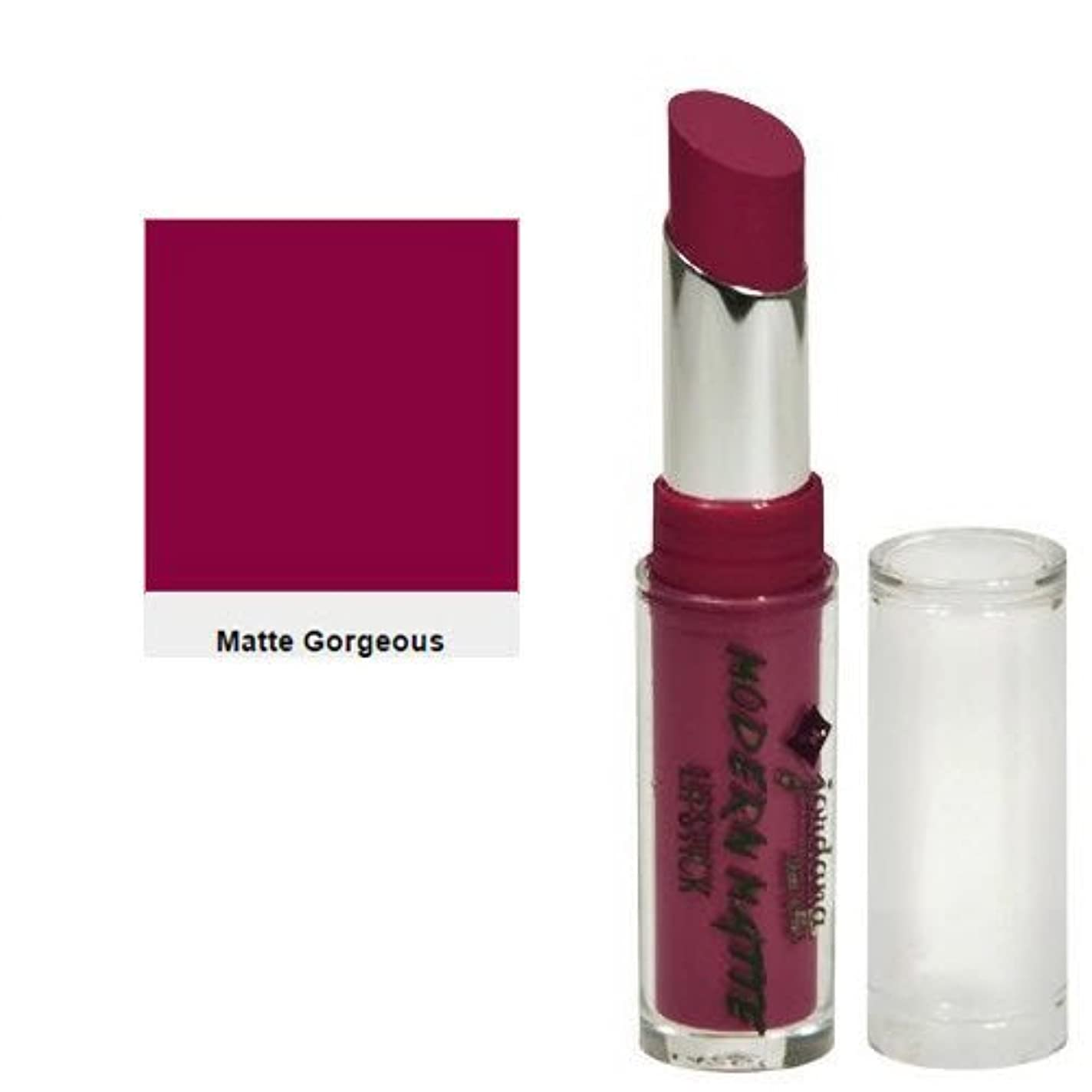 もろい一過性ブラケットJORDANA Modern Matte Lipstick - Matte Gorgeous (並行輸入品)