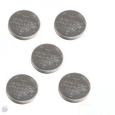 5 x Ex-Pro Puissance élevée CR2032 CR-2032 3v Lithium Batteries, Lot de 5 Piles bouto