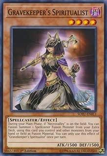 Yu-Gi-Oh! - Gravekeeper's Spiritualist - SOFU-EN013 - Soul Fusion - 1st Edition - Common