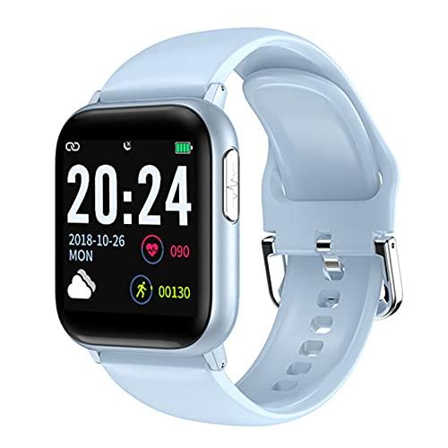 YXJ V6 Bluetooth Sports Podómetro Anti-Swat Swat Temperatura Mensaje Smart Watch 2021 Mujer Smartwatch para iOS Android,E