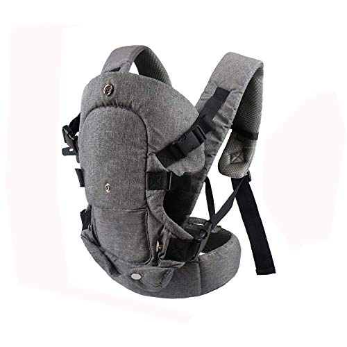 caiyuangg Baby Convertible Carrier All Carry Position Newborn to Toddlers Ergonomic Carrier with Soft Breathable Air Mesh and All Adjustable Buckles
