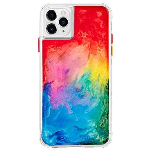 Case-Mate Gimmo Case Puffer-jas, zacht, iPhone 11 Pro, Rainbow Splash
