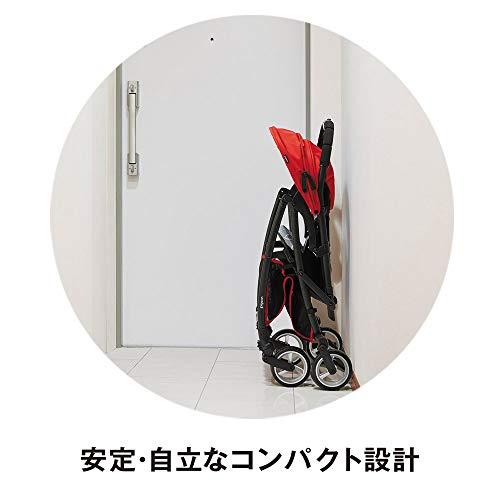 ピジョンB型ベビーカービングルBingleBB0マリンネイビー7か月~(1年保証)