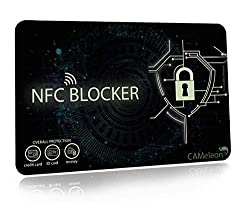 NFC Blocker I RFID Blocking Card I für EC-Karten, Kreditkarten, Ausweise (1 Stück)