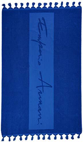 Emporio Armani Damen 9p325 Stola, Blau (Bluette 00033), One Size (Herstellergröße: TU)