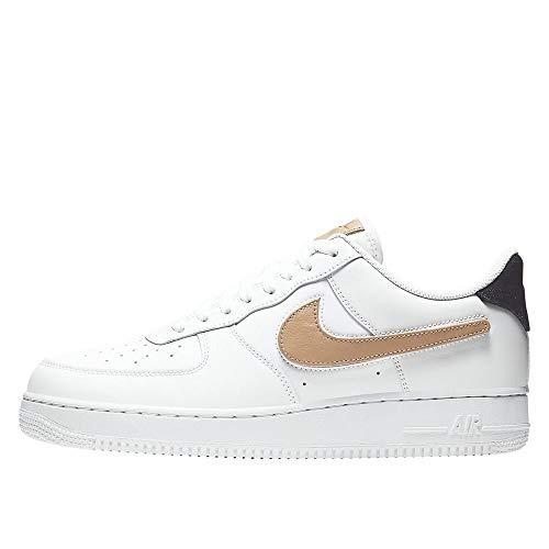 Nike Herren Air Force 1 ´07 LV8 3 Sneaker Weiß 41