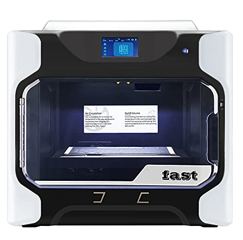 Xyfw 3D Printer with Removable Heated Build Plate Large Size Dual Extruder with Extra A Set of High Temperature Extruder PC Nylon Carbon Fiber