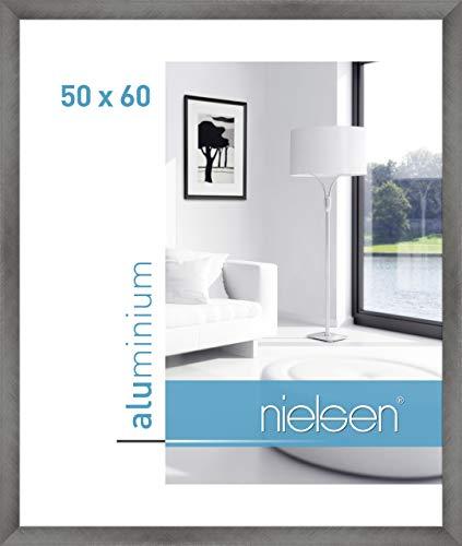 Nielsen Bilderrahmen Cambio P97 Farbe: Florentiner Grau, Größe (Bild): 60 cm H x 50 cm B