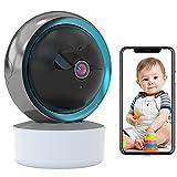 Babyphone WLAN IP Kamera Überwachungskamera Innen Automatische Verfolgung WiFi Haustier Kamera HD...