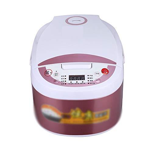 Herd Riso Domestico Grote capaciteit 5 l vierkant automatische kookpan rijstkoker anti-aanbaklaag deksel afneembare greep bescherming tegen verbranding keuken