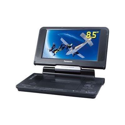 Panasonic DVD-LS855 8.5-Inch Portable DVD Player with Car Headrest Mounting Bracket, Black