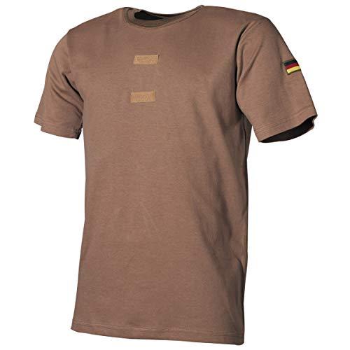 MFH BW Tropenhemd mit Klett und Hoheitsabzeichen (Coyote, 9)