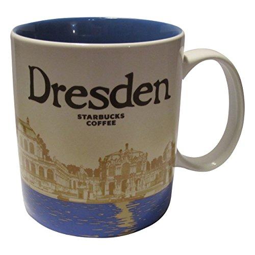 Starbucks City Mug Germany Coffee Cup Dresden Stadt Dresden Sachsen Saxony Pott