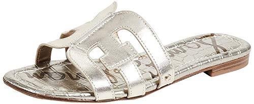 Sam Edelman -Bay Slide. Mules pour femme, (Jute Metallic Leather), 40 EU