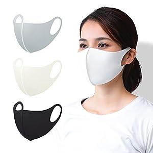 〔MIMS〕日本製 夏用 マスク 涼しい 接触冷感 洗える 冷たい UVカット 紫外線対策 ふつう Mサイズ グレー あらえる マスク 在庫あり 国内検査合格済み 通気性 個包装 抗菌防臭 3層構造 立体構造 繰り返し使える MASK-2-GRY-M_sc