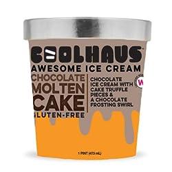 Coolhaus Ice Cream, Chocolate Molten Cake, 16 oz (Frozen)