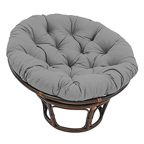 ywewsq Cojines para sillas Colgantes con Forma de Huevo, Suaves, de Gran tamaño, cojín para sillas Colgantes, cojín de Suelo Redondo para Interiores y Exteriores de 39,4 Pulgadas, Cojines de Hamaca