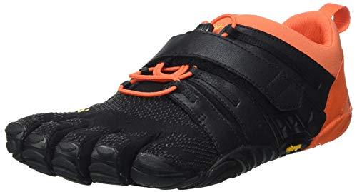 Vibram Men's V-Train 2.0 Sneaker, Black/Orange, 10 UK