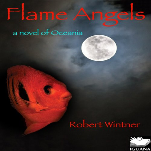 Flame Angels audiobook cover art