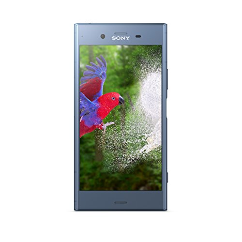 Sony Xperia XZ1 5.2 Inch HD Screen, Android 8.0 Oreo, UK SIM-Free Smartphone with 4Gb RAM and 32 GB Storage (Single SIM) - Moonlit Blue