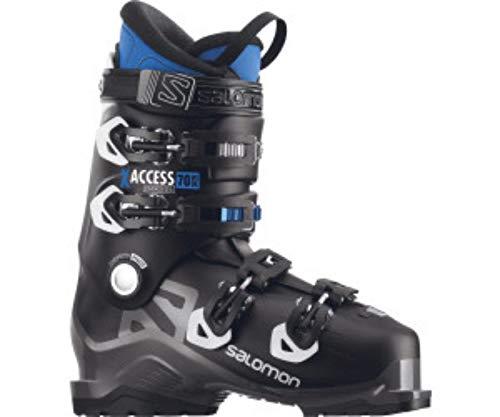 Salomon X-Access 70Wide Botas de esquí, 17/18, color BLACK / INDIGO BLUE,...