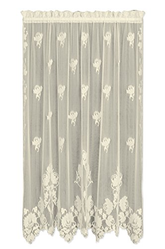 Heritage Lace Windsor 60-Inch Wide by 84-Inch Drop Panel, Ecru