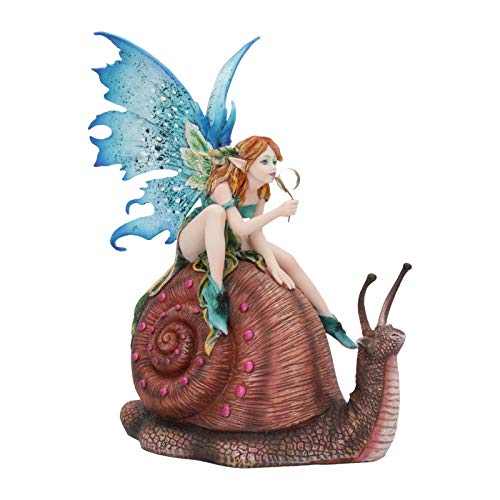 Nemesis Now Slow Ride - Figura Decorativa (19,5 cm), Color Azul