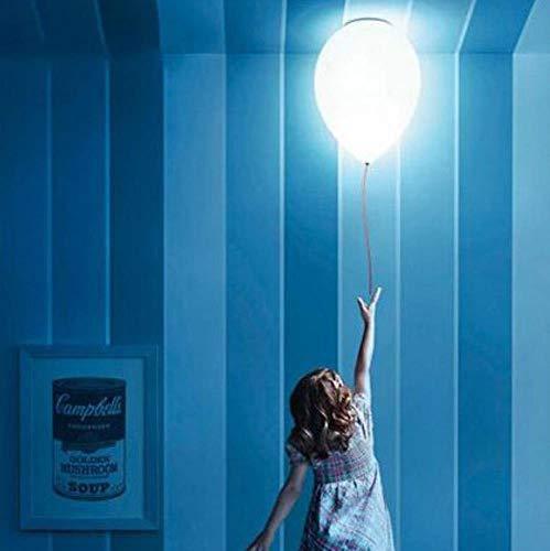 5151BuyWorld lamp voor kinderen, voor slaapkamer, decoratie, droplight, ballen, hanglamp, paardendeken, kinderaanhanger, verlichting van glas, melkglas, kogel, hoogwaardige kwaliteit