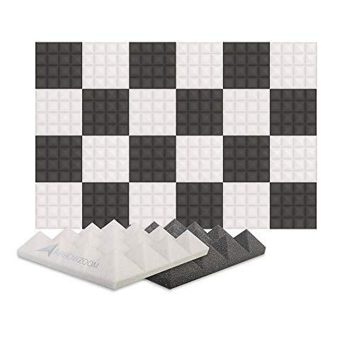 clasificación y comparación Panel de absorción de sonido Arrowzoom24 Aislamiento acústico de espuma de absorción de sonido piramidal … para casa