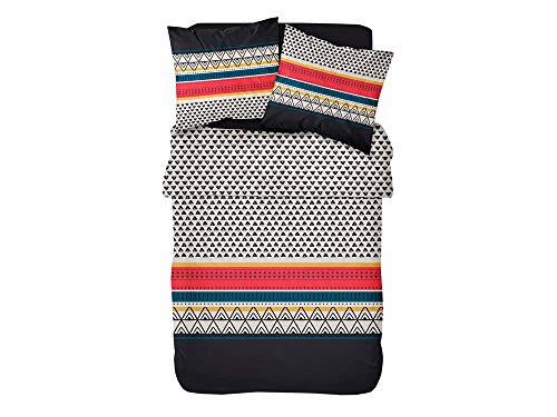 Today Etniko beddengoed voor tweepersoonsbed + 2 kussenslopen, katoen, meerkleurig, 220 x 240 cm