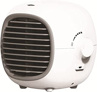 Portable Mobile Air Conditioner, 3 in 1 Mini USB Air Conditioner Fan, Purifier, Humidifier, Stepless Speed Regulation and ...