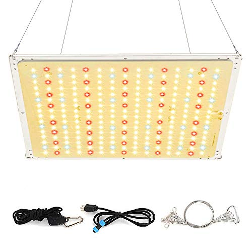 Roleadro Led Grow Light, 2020 Latest RL1000 Plant Light with IR, High PPFD Rating Full Spectrum LED Grow Lights for Indoor Plants Veg and Bloom, Plant Growing Lamps to Cover a 2x2 ft Flowering Space