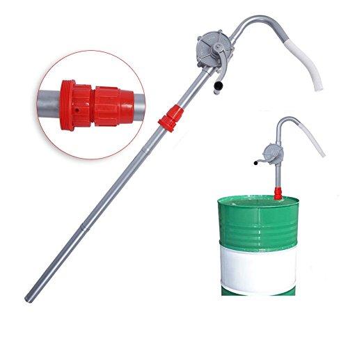 Ansaugpumpe für Handkurbelöl aus Aluminiumlegierung zum Pumpen von Kraftstoff, Benzin, Diesel, Schmieröl, Kochölen
