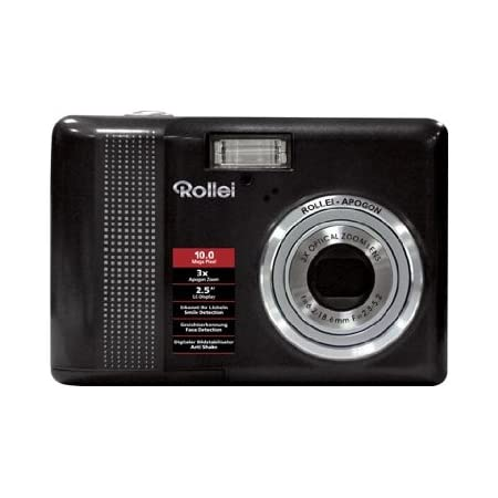 Rollei Compactline 130 Digital Camera 2 5 Zoll Black Camera Photo