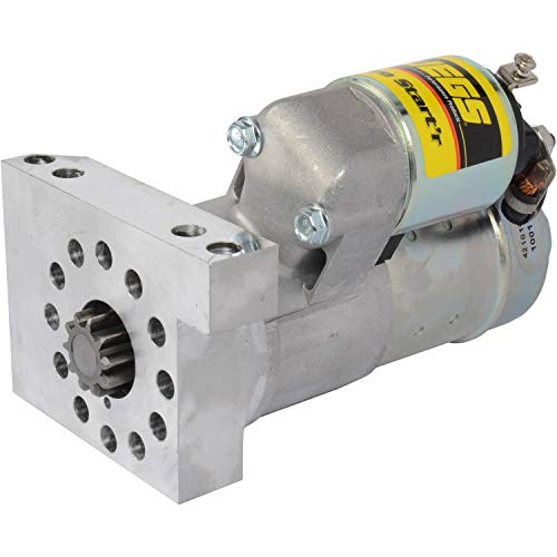 JEGS Heavy-Duty Mini Starter | Hitachi-Style | For Small Block and Big Block Chevy Engines | Made In USA