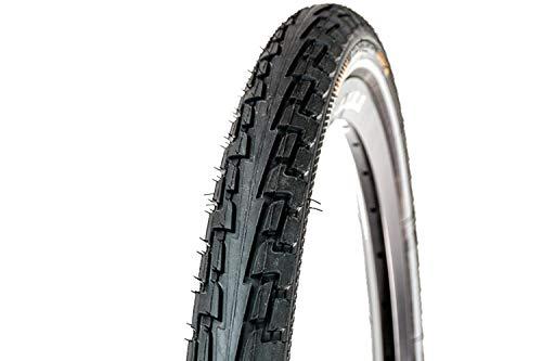 Continental Fahrrad Reifen Ride Tour // alle Größen + Farben, Ausführung:schwarz Reflex, Drahtreifen, Dimension:47-559 (26×1,75´´)