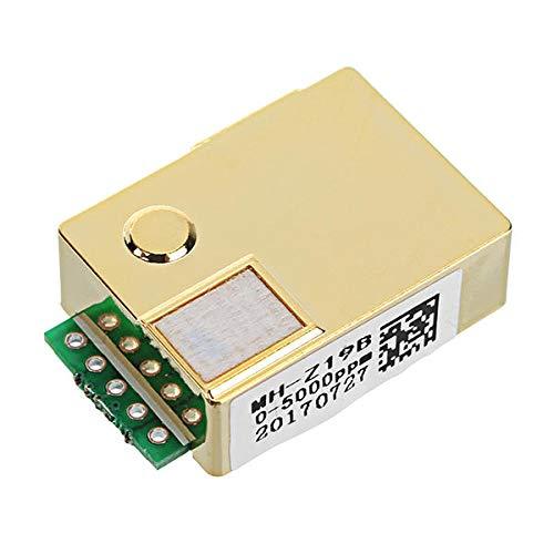 NICOLIE MH-Z19B Sensor infrarrojo del CO2 para el sensor de gas del CO2 del sensor del gas del CO2 del CO2 del monitor del CO2 0-5000PPM