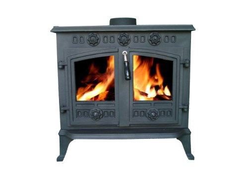 Cast Iron Log Wood Burner Stove JA006 12KW Multifuel Fire Place