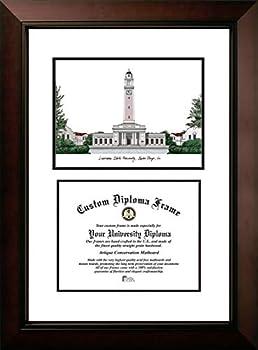 Campus Images LA999LV Louisiana State University Legacy Scholar Diploma Frame 8.5  x 11