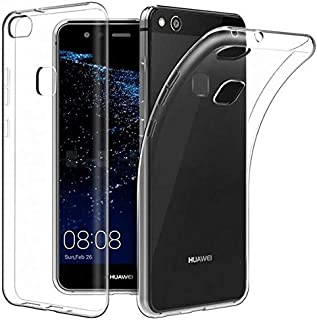 silicone cover case tpu for huawei p 10 lite clear