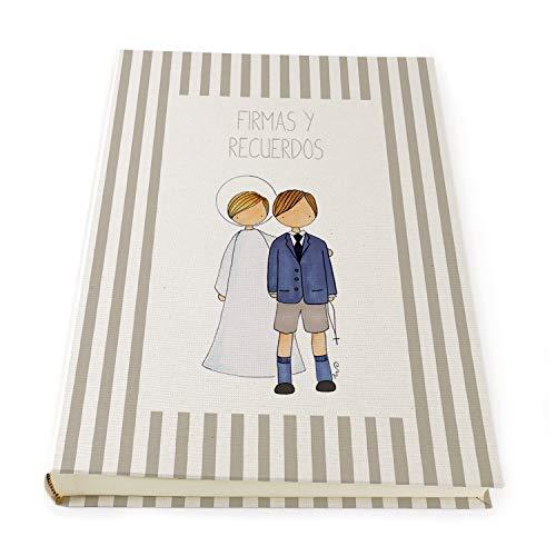 Libros de Firmas Comunión Para Niños y Niñas   Álbum para Firmar y Recordar la Primera Comunión   23 x 30 cm   Distintos diseños