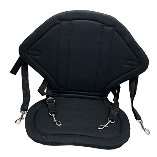 freneci Deluxe Kayak Seat Adjustable Canoe Back Rest Support...