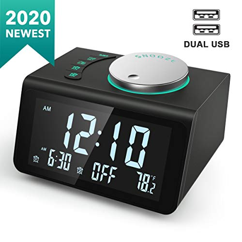 ANJANK Small Digital Alarm Clock...