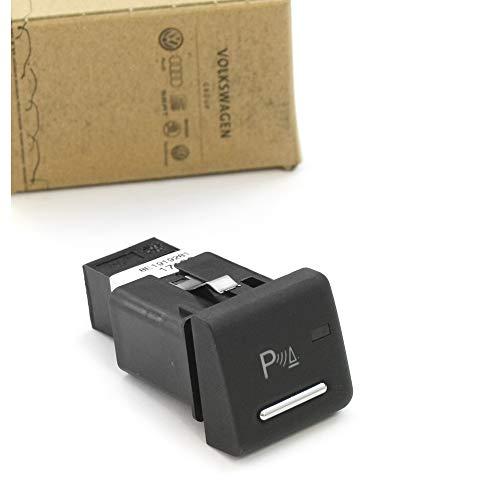 PDC Schalter Einparkhilfe Druckknopf Betätigung chrom schwarz 8E1919281B5PR