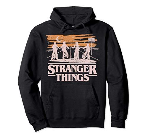 Netflix Stranger Things Night Silhouettes Sudadera con Capucha