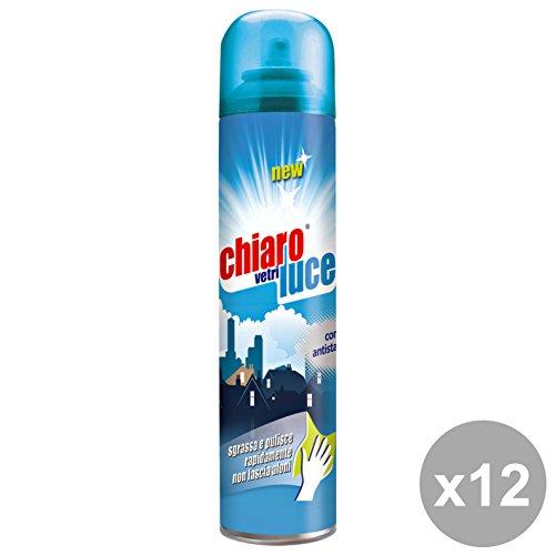 Chiaro Luce detergenti, detersivo, Multicolore, Unica, 12 Unità