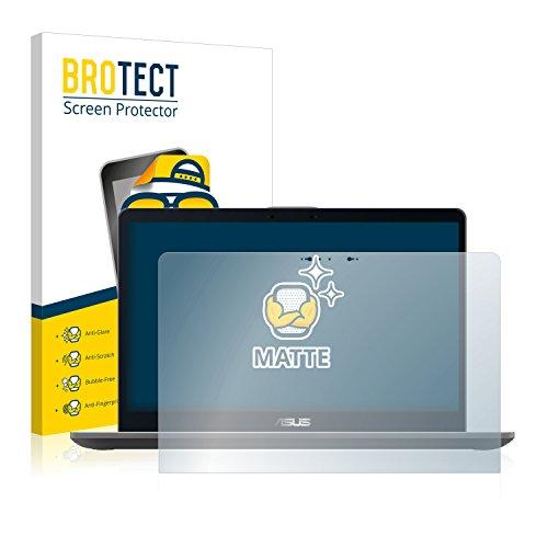 BROTECT Entspiegelungs-Schutzfolie kompatibel mit Asus ZenBook Flip 15 UX561 Bildschirmschutz-Folie Matt, Anti-Reflex, Anti-Fingerprint