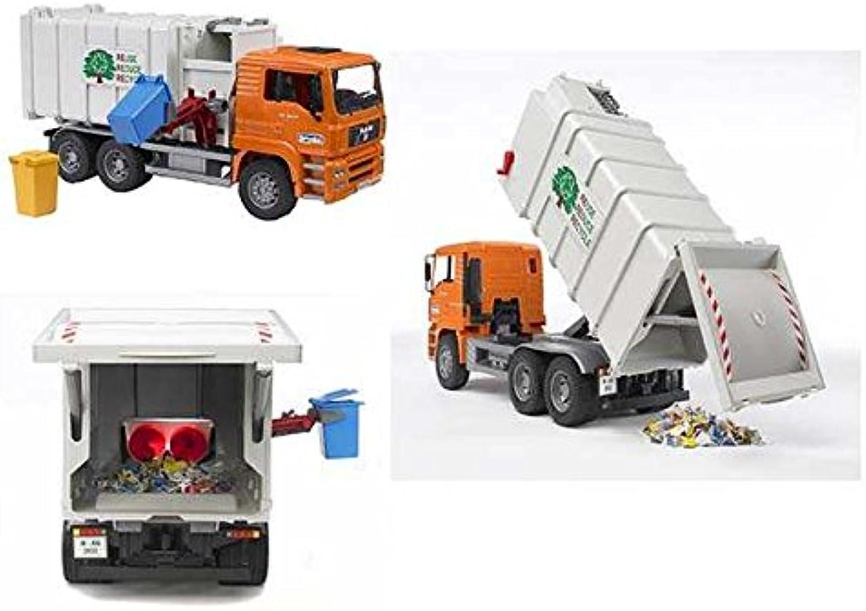 Entrega directa y rápida de fábrica Camión de de de basura juguete idea regalo   AG17  gran descuento