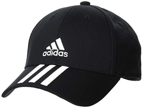 adidas Bball 3s Cap CT Gorra, Unisex Adulto, Black/White/White, OSFM